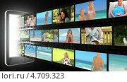 Купить «Montage of families spending time together», видеоролик № 4709323, снято 5 августа 2020 г. (c) Wavebreak Media / Фотобанк Лори