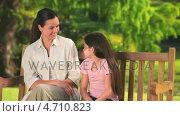 Купить «Mother talking to her daughter», видеоролик № 4710823, снято 5 августа 2020 г. (c) Wavebreak Media / Фотобанк Лори