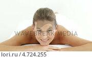 Купить «Attractive woman at a health spa», видеоролик № 4724255, снято 19 января 2020 г. (c) Wavebreak Media / Фотобанк Лори