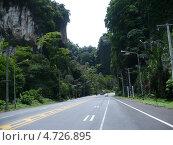 Дорога в ущелье. Стоковое фото, фотограф Андрей / Фотобанк Лори