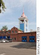 Купить «Пожарная каланча в Абакане», эксклюзивное фото № 4731519, снято 10 августа 2012 г. (c) Шичкина Антонина / Фотобанк Лори