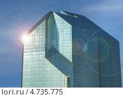 Стеклянное офисное здание. Стоковое фото, фотограф Дмитрий Лифанов / Фотобанк Лори