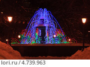 Купить «Фонтан», фото № 4739963, снято 19 января 2011 г. (c) Андрей Аношин / Фотобанк Лори