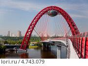 Купить «Живописный мост. Москва», фото № 4743079, снято 1 июня 2013 г. (c) Наталья Волкова / Фотобанк Лори