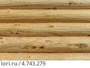 Фон соснового сруба. Стоковое фото, фотограф Андрей Каретников / Фотобанк Лори