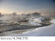 Зимний рассвет. Стоковое фото, фотограф Александр Коротков / Фотобанк Лори