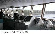 Купить «Управление лайнером», видеоролик № 4747879, снято 8 июня 2013 г. (c) Данил Руденко / Фотобанк Лори