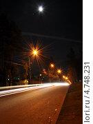 Ночной ритм. Стоковое фото, фотограф Синенко Юрий / Фотобанк Лори
