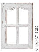 Купить «Старое деревянное окно», фото № 4748283, снято 2 июня 2020 г. (c) Marina Appel / Фотобанк Лори