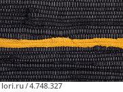 Текстура самодельной ткани. Стоковое фото, фотограф Marina Appel / Фотобанк Лори