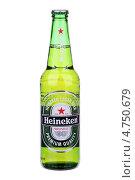 Пиво «Heineken» (2013 год). Редакционное фото, фотограф Игорь Веснинов / Фотобанк Лори