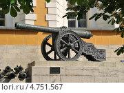 Купить «Пушки 1812 года возле Арсенала Московского Кремля, Москва», эксклюзивное фото № 4751567, снято 18 мая 2013 г. (c) lana1501 / Фотобанк Лори
