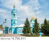 Коломна. Богоявленская церковь (2013 год). Стоковое фото, фотограф Борис Сунцов / Фотобанк Лори