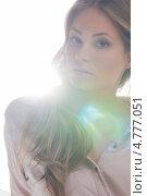 Купить «Чувственная девушка с длинными русыми волнистыми волосами», фото № 4777051, снято 14 августа 2010 г. (c) Syda Productions / Фотобанк Лори