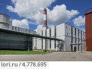 Спецзавод №4. (Мусоросжигательный завод по комплексной переработке твердых бытовых отходов) в Москве (2013 год). Стоковое фото, фотограф stargal / Фотобанк Лори