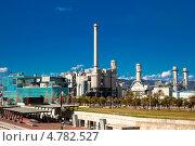 Купить «Промышленный завод в Sand Adria de Besos. Барселона, Испания», фото № 4782527, снято 9 марта 2013 г. (c) Яков Филимонов / Фотобанк Лори