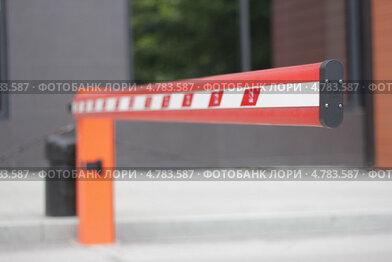 Купить «Шлагбаум», фото № 4783587, снято 20 июня 2013 г. (c) Igor Nikolaeff / Фотобанк Лори