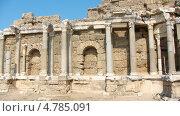 Купить «Турция. Развалины города Сиде.», фото № 4785091, снято 22 июля 2008 г. (c) Алена Васильева / Фотобанк Лори