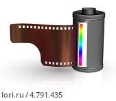 Купить «Фотопленка в кассете», иллюстрация № 4791435 (c) Сергей Куров / Фотобанк Лори