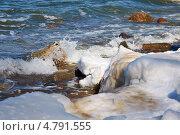 Купить «Таяние морского льда», фото № 4791555, снято 18 октября 2019 г. (c) Сергей Куров / Фотобанк Лори