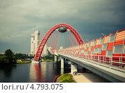 Живописный мост. Москва (2013 год). Редакционное фото, фотограф Олег Смагин / Фотобанк Лори