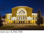 Купить «Здание театра Волкова в Ярославле», фото № 4793799, снято 18 мая 2013 г. (c) Boris Breytman / Фотобанк Лори