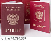 Купить «Паспорта», фото № 4794367, снято 26 июня 2013 г. (c) Элина Гаревская / Фотобанк Лори