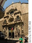 Готический квартал. Старый город, Барселона. Испания. (2013 год). Редакционное фото, фотограф Марат Сабиров / Фотобанк Лори