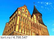 Купить «Кафедральный собор Кёнигсберга. Готика, 14 век», фото № 4798547, снято 22 июня 2013 г. (c) Сергей Трофименко / Фотобанк Лори