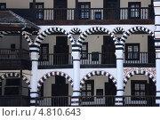 Купить «Болгария. Рильский (Рыльский) монастырь. Фрагмент», фото № 4810643, снято 28 апреля 2013 г. (c) Victor Spacewalker / Фотобанк Лори