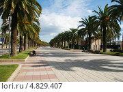 Набережная Салоу, Коста Дорада, Каталония, Испания (2012 год). Редакционное фото, фотограф Алексей Лугинин / Фотобанк Лори