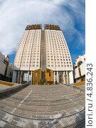 Купить «Здание Президиума Российской академии наук (РАН), Москва», фото № 4836243, снято 14 июня 2013 г. (c) Pukhov K / Фотобанк Лори