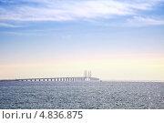 Купить «Мост между государствами», фото № 4836875, снято 3 мая 2013 г. (c) Parmenov Pavel / Фотобанк Лори