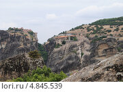 Греция, Метеоры, скальные монастыри (2013 год). Стоковое фото, фотограф Юлия Желтенко / Фотобанк Лори