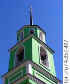 Церковь Саввы Сторожевского, поселок Заря, Балашихинский район, Московская область (2013 год). Стоковое фото, фотограф lana1501 / Фотобанк Лори