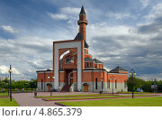 Мемориальная мечеть на Поклонной горе (2013 год). Редакционное фото, фотограф Алексей Голованов / Фотобанк Лори
