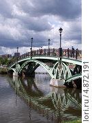 Мост к фонтану в Царицыно (2013 год). Редакционное фото, фотограф Екатерина Днепровская / Фотобанк Лори