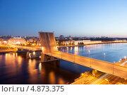 Купить «Санкт-Петербург. Володарский мост», эксклюзивное фото № 4873375, снято 16 июня 2013 г. (c) Литвяк Игорь / Фотобанк Лори
