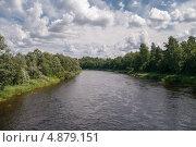 Купить «Река Мста», фото № 4879151, снято 4 июня 2020 г. (c) Окапи Вячеслав / Фотобанк Лори