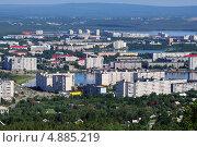Купить «Мончегорск, вид сверху», фото № 4885219, снято 7 июля 2013 г. (c) Валерий Александрович / Фотобанк Лори