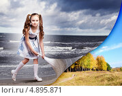 Купить «Ребенок меняет мир», фото № 4895871, снято 6 декабря 2019 г. (c) Sergey Nivens / Фотобанк Лори