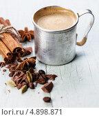 Купить «Кофе с специями», фото № 4898871, снято 14 апреля 2013 г. (c) Лисовская Наталья / Фотобанк Лори