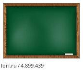 Зелёная школьная доска. Стоковая иллюстрация, иллюстратор Marina Shipilova / Фотобанк Лори