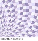 Абстрактный фон из фиолетовых геометрических элементов. Стоковая иллюстрация, иллюстратор Marina Shipilova / Фотобанк Лори