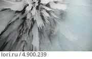 Купить «Лед озера Байкал», видеоролик № 4900239, снято 27 июля 2013 г. (c) Кирилл Трифонов / Фотобанк Лори