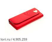 Купить «Красный кошелек», фото № 4905259, снято 20 июля 2013 г. (c) Елена Силкова / Фотобанк Лори