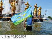 День ВДВ России на ВВЦ (2012 год). Редакционное фото, фотограф Krasnoperov Rostislav / Фотобанк Лори