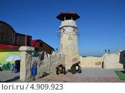 Крепость в горах Геленджика. Стоковое фото, фотограф Богатырева Яна Сергеевна / Фотобанк Лори