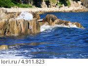 Волнующее море. Стоковое фото, фотограф Евгений Дедовец / Фотобанк Лори