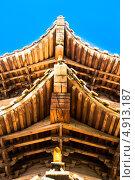 Восточная крыша (2013 год). Стоковое фото, фотограф Дмитрий Дорошин / Фотобанк Лори